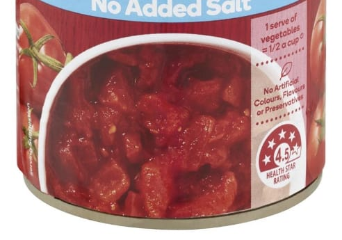 Diced tomato crop